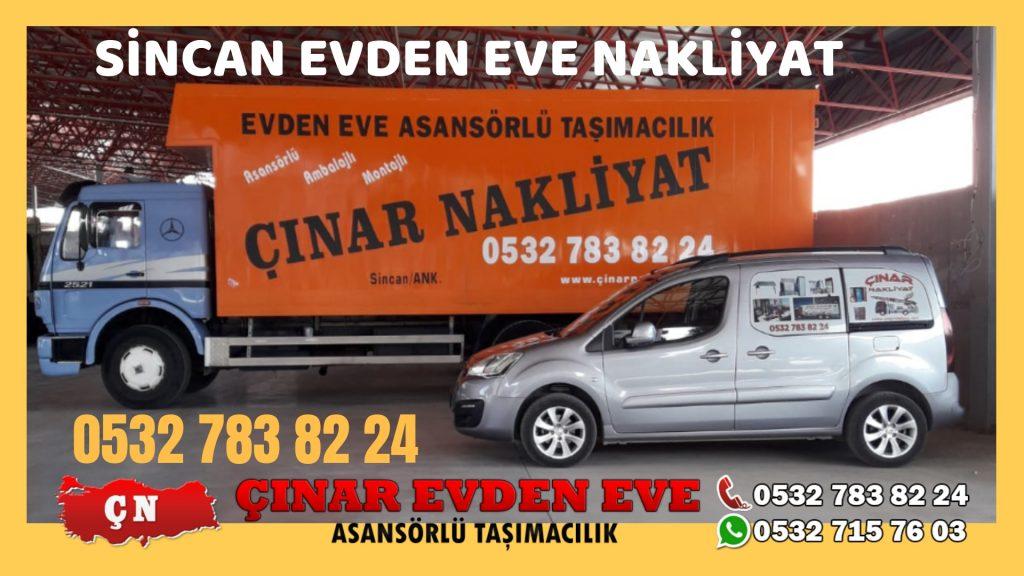 Sincan Evden Eve Nakliyat Sincan Nakliyat Çınar Nakliyat
